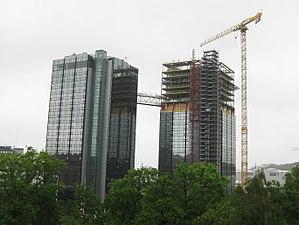 White (architecture firm) - Image: Gothia Towers, one bridge A