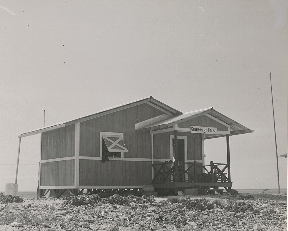 Government House on Jarvis Island (80-CF-798677-9)