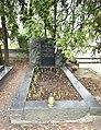 Grób Tadeusza Borowskiego na cmentarzu Wojskowym na Powązkach 2017.jpg