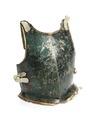 Grönmålat bröstharnesk till rustning, 1777 - Livrustkammaren - 107072.tif