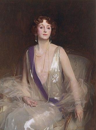 Grace Curzon, Marchioness Curzon of Kedleston - Marchioness Curzon of Kedleston, by John Singer Sargent