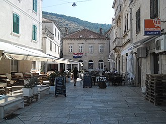 Vis (town) - Vis town center
