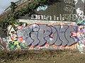 Graffiti at Trumpington, Cambridgeshire 01.jpg