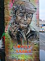 Graffiti in Shoreditch, London - Del Boy by Paul Don Smith (9425025402).jpg