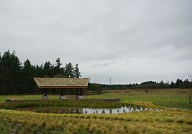 Graham Oaks Nature Park pond - Wilsonville, Oregon.JPG