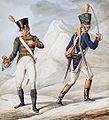 Grande Armée - Line Infantry Cornet & Officer of Voltigeurs.jpg