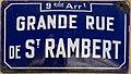Grande Rue de Saint-Rambert (Lyon) - panneau de rue.jpg