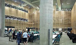 Grande Bibliothèque - The reading room of Bibliothèque et Archives nationales du Québec's Collection nationale.
