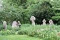 Grave stones in the nettles - geograph.org.uk - 1304416.jpg