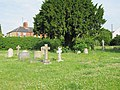 Graves by the tree - geograph.org.uk - 1380890.jpg