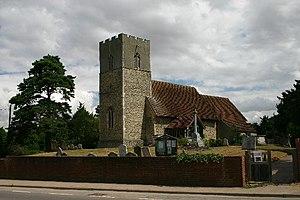 Great Blakenham - Image: Great Blakenham Church of St Mary