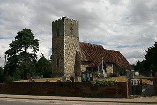 Great Blakenham village in United Kingdom