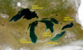 Great Lakes from space-ES-Grandes Lagos Norteamerica.png