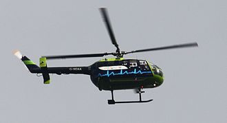 Great Western Ambulance Service - Air Ambulance G-NDAA