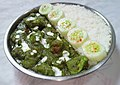 Green Chicken with Rice and cucumber salad.jpg