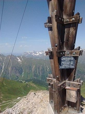 Greitspitz - Greitspitz Peak