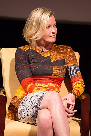 Gretchen Mol - Mol discussing Boardwalk Empire in 2015