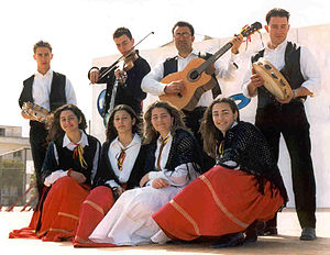 Griko people - Griko cultural group from Salento.