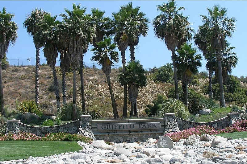 File:Griffith Park welcome sign.jpg
