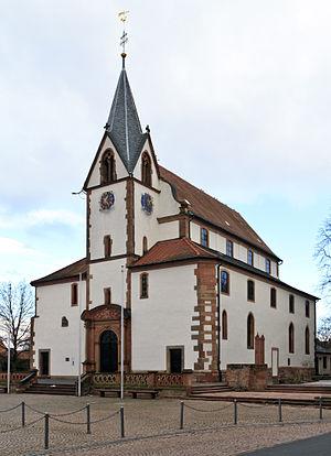 Großostheim - Saints Peter's and Paul's parish church