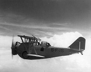 VF-11 - VF-5B FF-1 in 1936