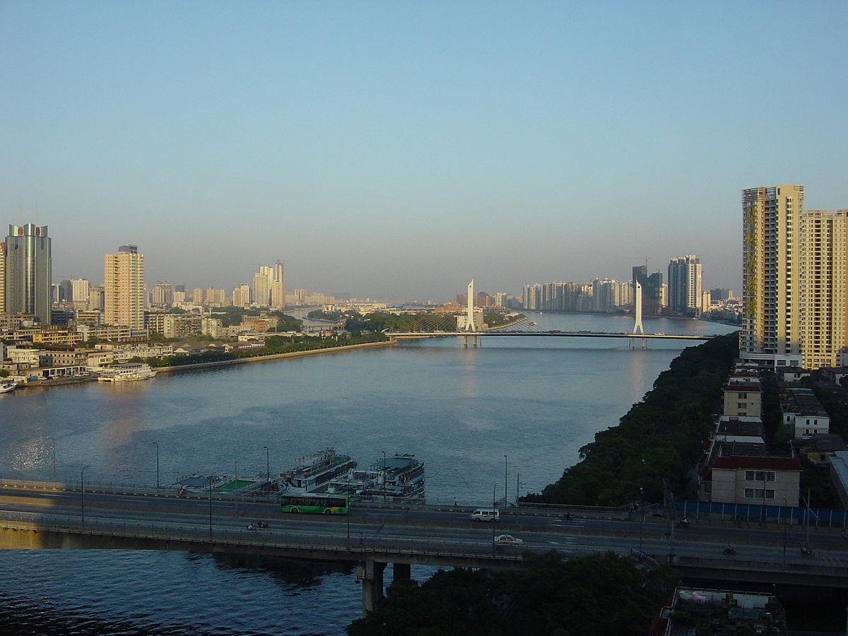 Pearl River La >> Río de las Perlas - Wikipedia, la enciclopedia libre