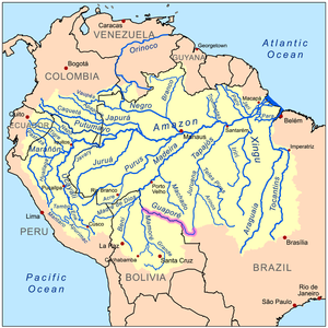 Guaporé River - Wikipedia
