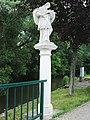 GuentherZ 2011-06-25 0073 Laa an der Thaya Nordbahnstrasse Statue Johannes Nepomuk.jpg