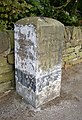 Guide stone, Thurstonland Road, Farnley Tyas - geograph.org.uk - 559899.jpg