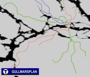 Gullmarsplan metro station