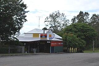 Gunalda Town in Queensland, Australia