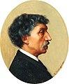 Gustave Boulanger, Portrait of Charles Garnier, 1884, Aberdeen Art Gallery.jpg