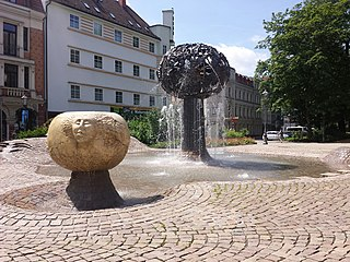 Fountain of friendship