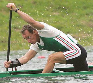 György Kolonics Hungarian canoe racer