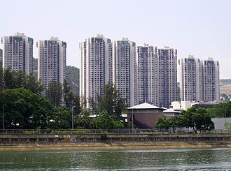 Royal Ascot, Hong Kong - Royal Ascot and Shing Mun River.