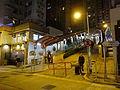HK SYP night High Street Centre Street escalators Sai Ying Pun slop Dec-2015 DSC.JPG