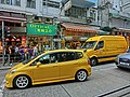 HK Sai Ying Pun 西環 正街 Centre Street 渠務署 Drainage Services Department n yellow orange automobiles April 2013.JPG