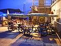 HK Sunday night West Kln Promenade Bike biz 01.JPG
