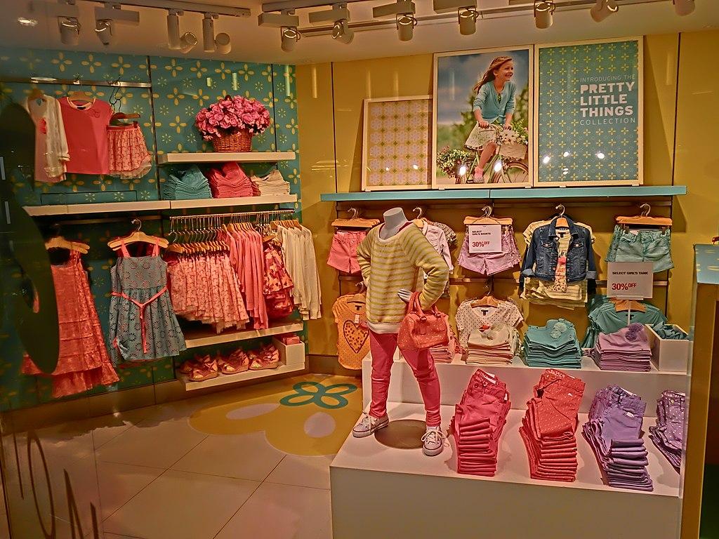 Kid city clothing store