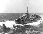 HMCS Athabaskan (219) off Korea in 1950.JPEG