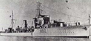 HMS Brazen (H80) - HMS Brazen