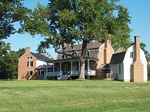 Thomas Stone National Historic Site - Haberdeventure, Front View, September 2009