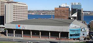 2003 World Junior Ice Hockey Championships - Image: Halifaxmetrocentre 06aa