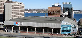 2008 IIHF World Championship - Image: Halifaxmetrocentre 06aa