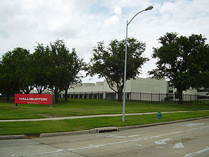 Halliburton - Halliburton (Oak Park) offices in Westchase and in Chinatown in Houston