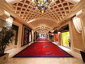Wynn Las Vegas - Hallway of Wynn Las Vegas