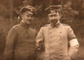 Hans Bernhard Schwerin and friend during World War I circa 1915.png