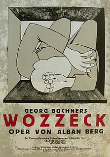 <i>Wozzeck</i> 1925 opera by Alban Berg; Bergs first opera