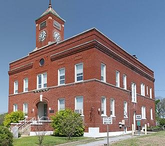 Hardin County, Illinois - Image: Hardin County Courthouse, Elizabethtown