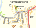 Harmondsworth OS OpenData map.png
